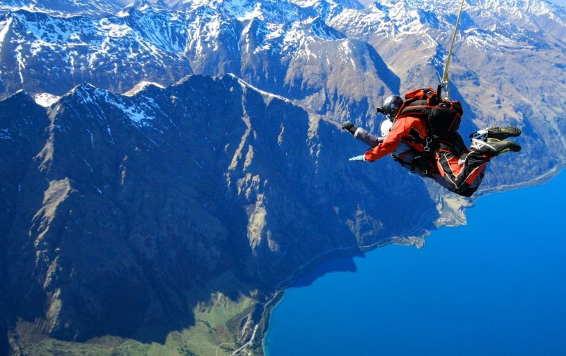 Queenstown Skydive Nzone Peterpans Travel