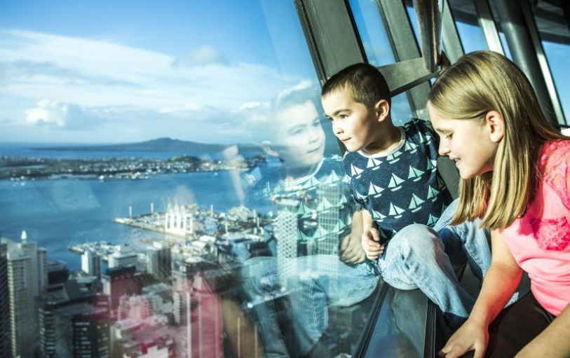 Image result for sky tower auckland kids